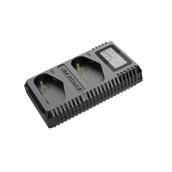 Nitecore UCN4 Pro USB Canon LP-E4N 雙位電池充電座