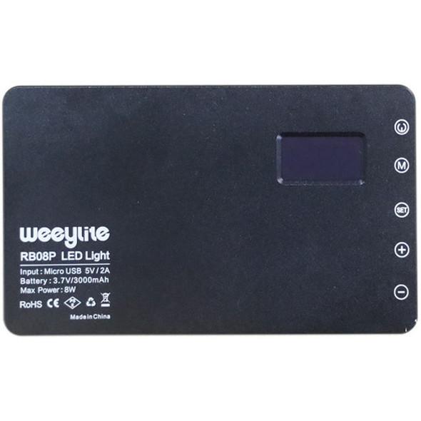 Weeylite RB08P 全彩迷你LED補光燈 (內置電池)