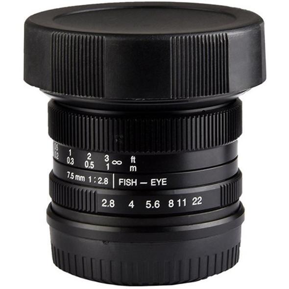 七工匠 7artisans 7.5mm F2.8 Canon EOS M 鏡頭