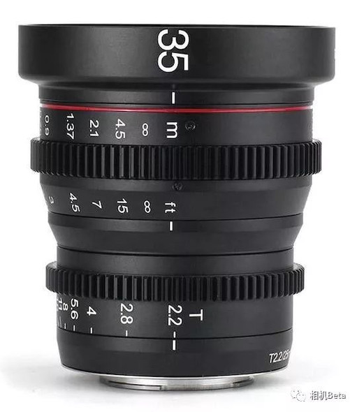 Meike 美科 MK-35mm T2.2 Manual Focus Cinema Lens 電影鏡頭 For MFT-mount