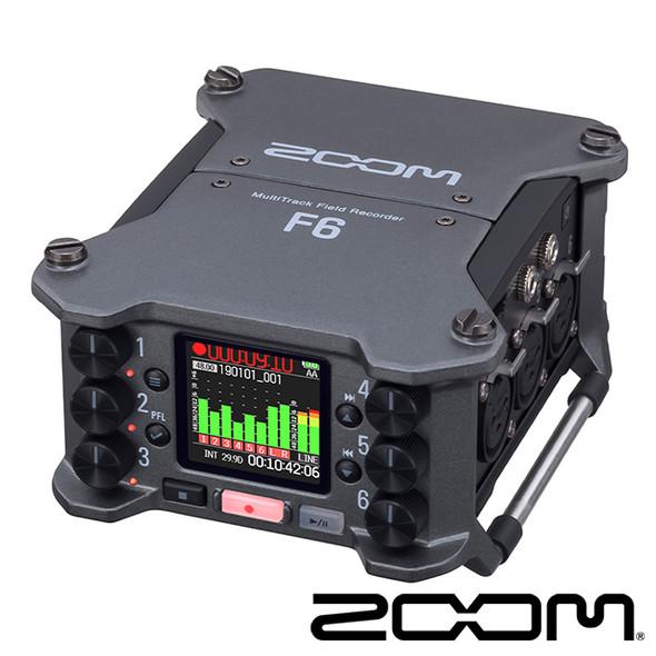 ZOOM F6 Multitrack Field Recorder 多軌錄音機