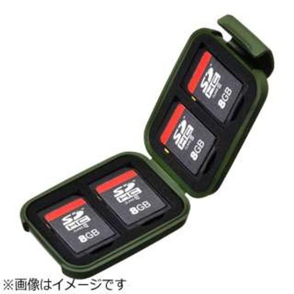 Hakuba SD Card Case Green 記憶卡收納盒 綠色