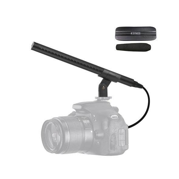 Synco Mic-D2 Hyper-Cardioid Condenser Shotgun Microphone