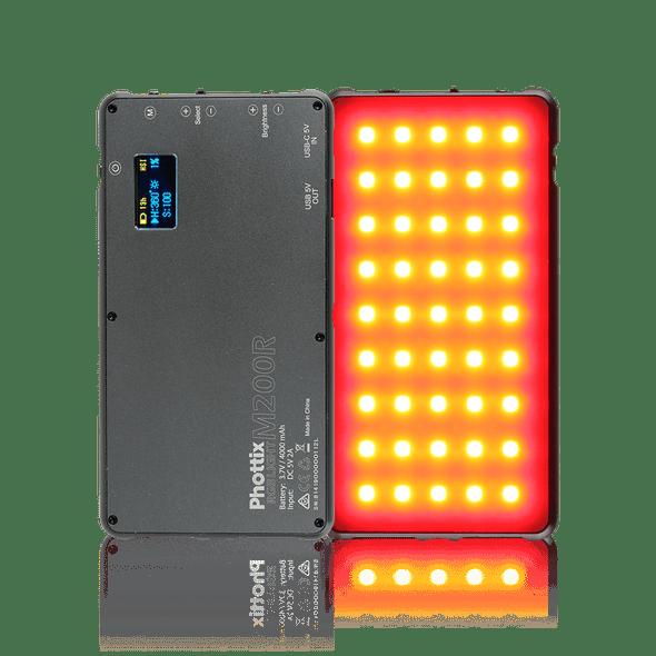Phottix M200R RGB LED Light 內置電池迷你補光燈