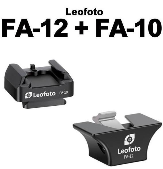 Leofoto FA-12 + FA-10 冷熱靴快拆系統