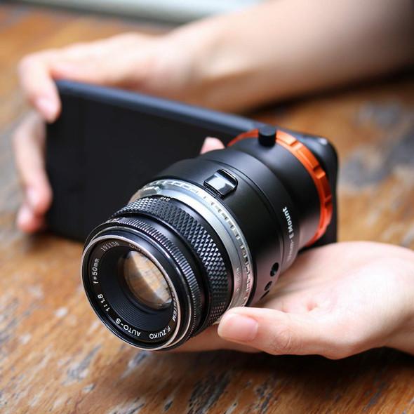 Ulanzi DOF adapter 手機轉Sony Full Frame E-mount 轉接環