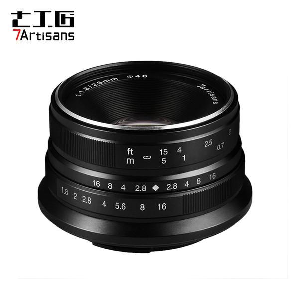 七工匠 7artisans 25mm F1.8 Canon EOS M 鏡頭