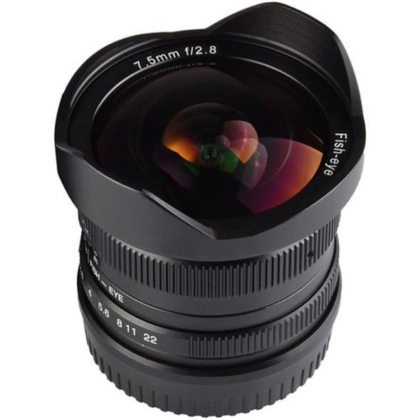 七工匠 7artisans 7.5mm F2.8 Panasonic Olympus MFT Mount 鏡頭