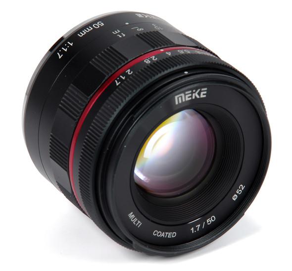 Meike 美科 50mm F/1.7 Full-Frame 鏡頭 For Sony E-mount