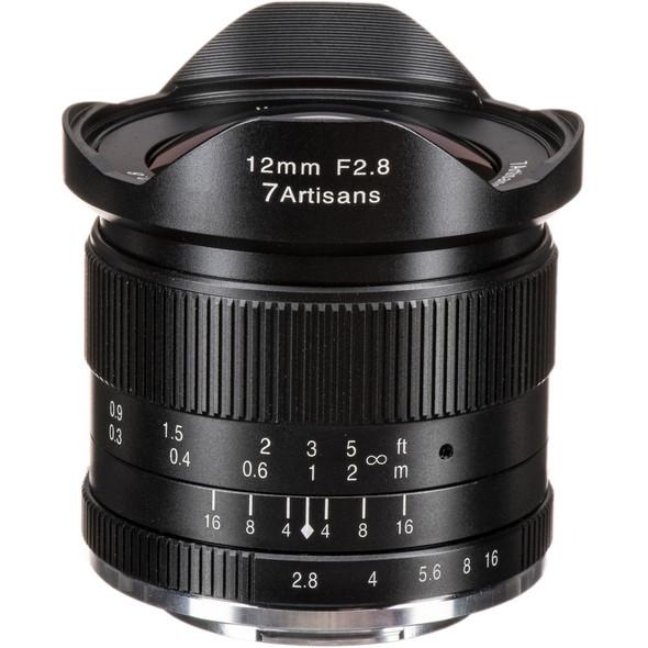 七工匠 7artisans 12mm F2.8 Canon EOS M Mount 鏡頭
