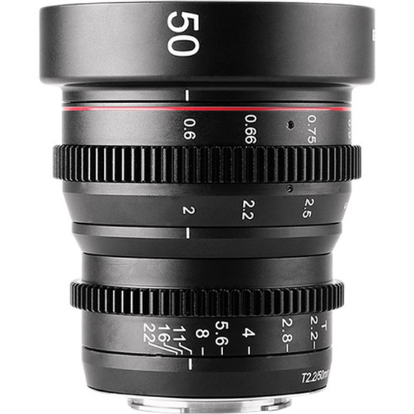 Meike 美科 MK-50mm T2.2 Manual Focus Cinema Lens 電影鏡頭 For MFT-mount