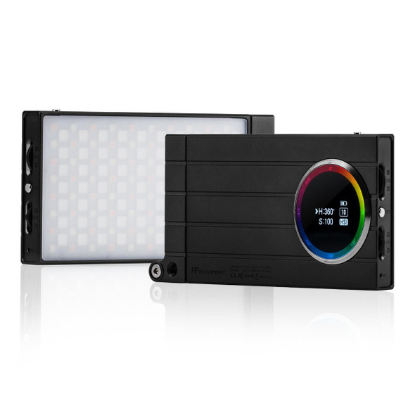 Godox 神牛 RGB Mini Creative M1 On-Camera Video LED Light 全彩補光燈