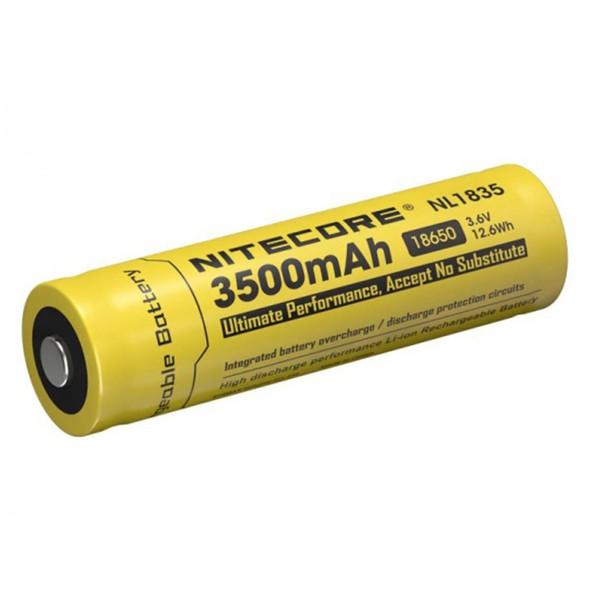 Nitecore NL1835 3500mAh 3.6V 8A 18650 有保護鋰電池