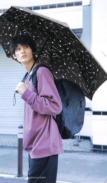 日本品牌 WPC Umbrella MSS-007 Navy 情侶搭配 背囊保護 伸縮雨傘