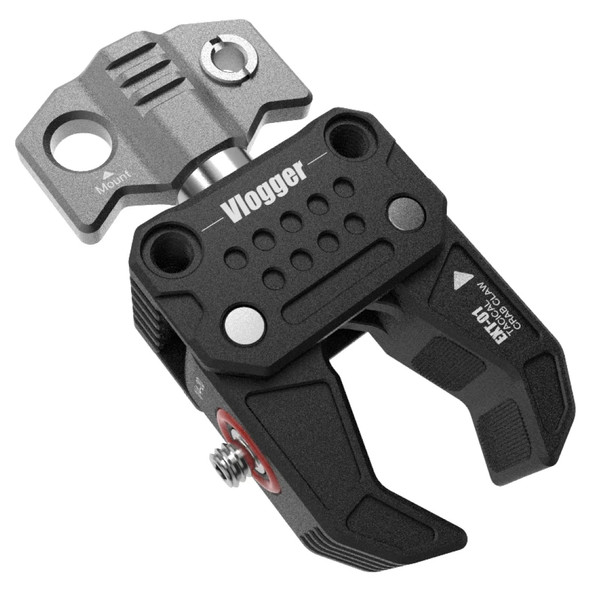 """Vlogger EXT-01 Multi-Functional Crab-Shaped Clamp Bulit-in 1/4"""" and 3/8"""" threaded holes 強力蟹鉗大力夾"""