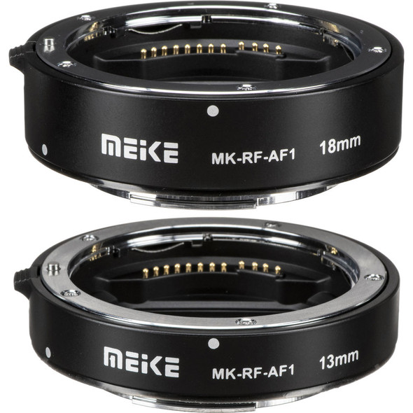 Meike 美科 MK-RF-AF1 11mm and 18mm Macro Extension Tube Set for Canon RF 微距接環