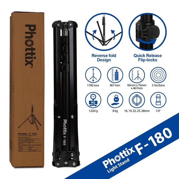 "Phottix F-180 Light Stand (H/180cm/71"") 燈架"