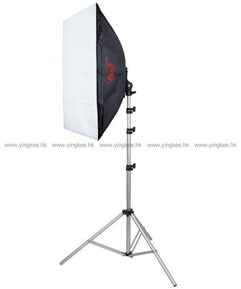 Falconeyes銳鷹四燈頭柔光箱攝影燈單燈套裝LH-4E27SBK