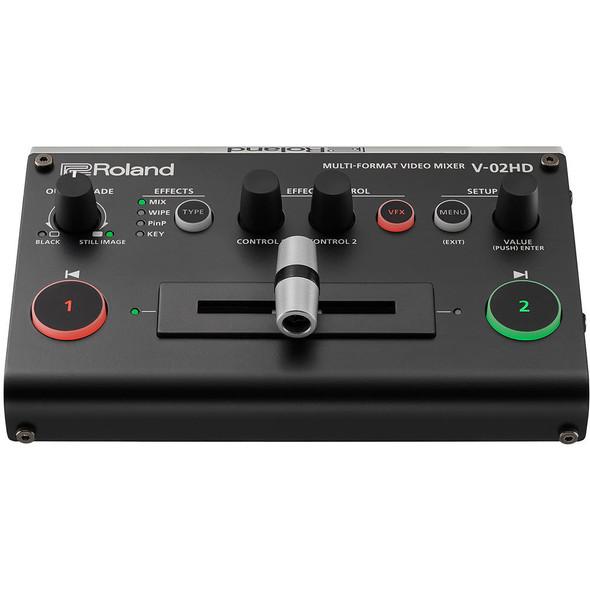 Roland V-02HD Multi-Format Video Mixer Switcher 多格式視頻混合器