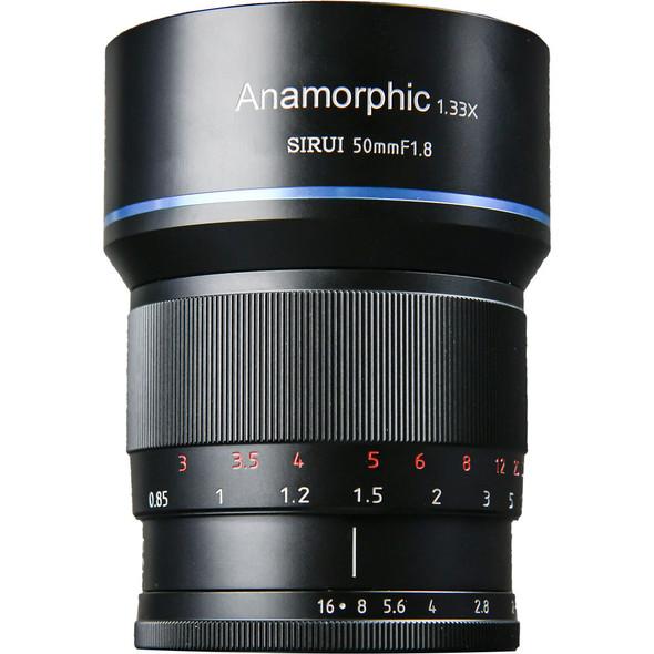 Sirui 50mm F1.8 Anamorphic 1.33x for  X Mount 變形電影鏡頭