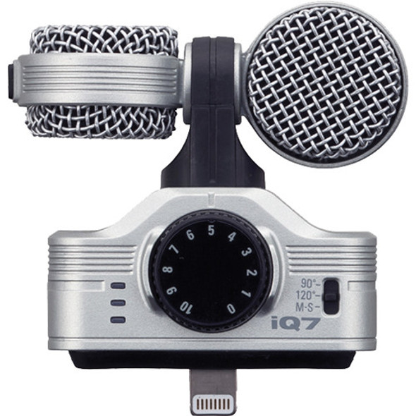 Zoom iQ7 Professional Stereo Microphone for iPhone iOS Lightning