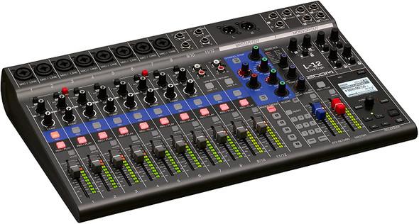 ZOOM LiveTrak L-12 Digital Mixer + Recorder