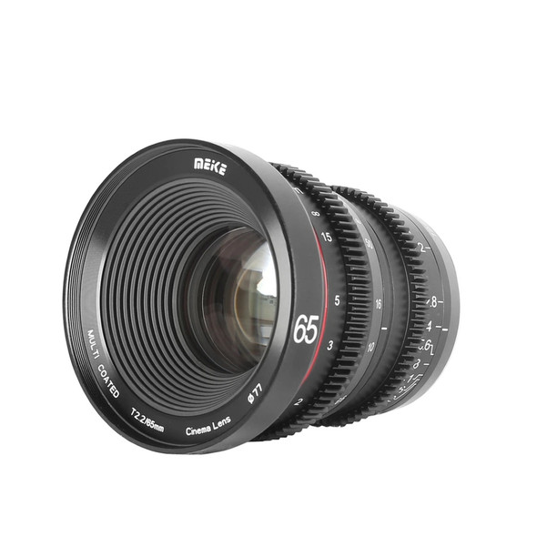 Meike 美科 MK-65mm T2.2 Manual Focus Cinema Lens 電影鏡頭 For MFT-mount
