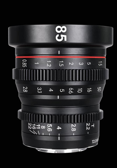 Meike 美科 MK-85mm T2.2 Manual Focus Cinema Lens 電影鏡頭 For MFT-mount