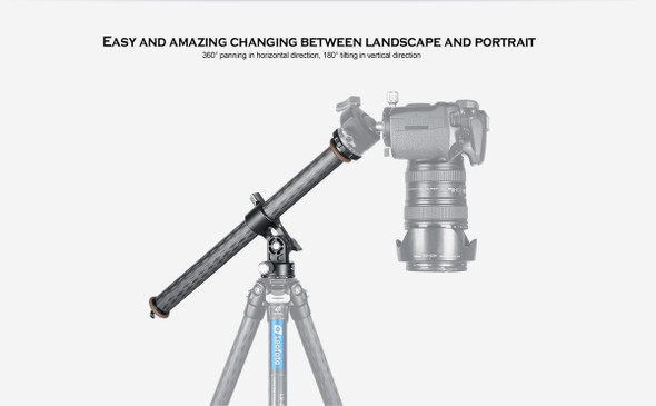 Leofoto HC-28 Horizontal Column 橫置全景中軸
