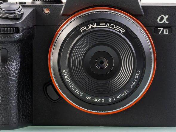 FUNLEADER Cap Lens 18mm f/8 超廣角鏡頭 For Canon EOS-R