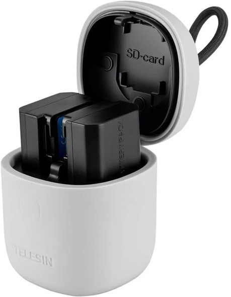 Telesin All in Box for Sony NP-FZ100 A7R3 A7M3 A7III 7RM3 A9 電池充電器(不包括電池)