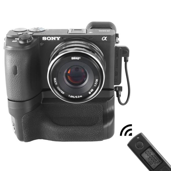Meike 美科 MK-A6600 Pro Sony A6600 電池直倒手柄連遙控器