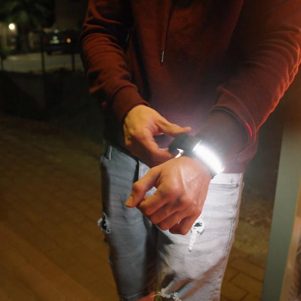 Spiffy KYU.6 Bi-color LED Light Bracelet 雙色補光燈手帶