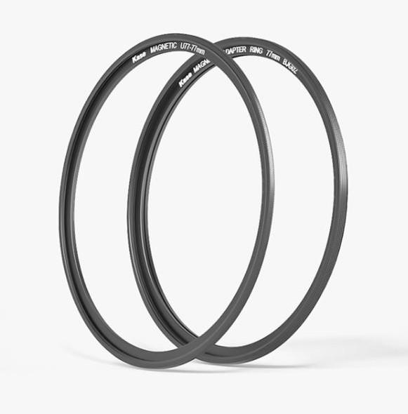 Kase卡色 金剛狼磁吸濾鏡轉接環 + 磁吸螺口轉接環 magnetic circular adaptor ring + Magnetic Step Ring  77mm