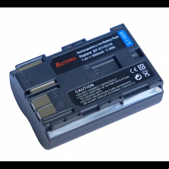 Battpro BP-511 Battery for Canon