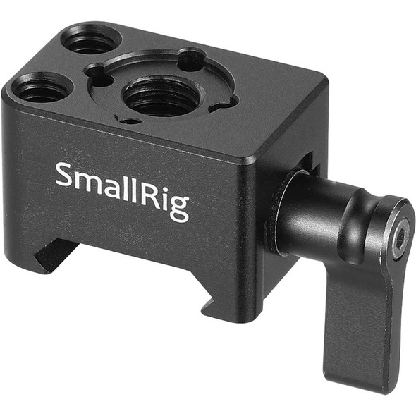 "SmallRig 2207 Nato Clamp Mount with Arri Anti-Twist 3/8""-16 Threaded Mounting Hole"