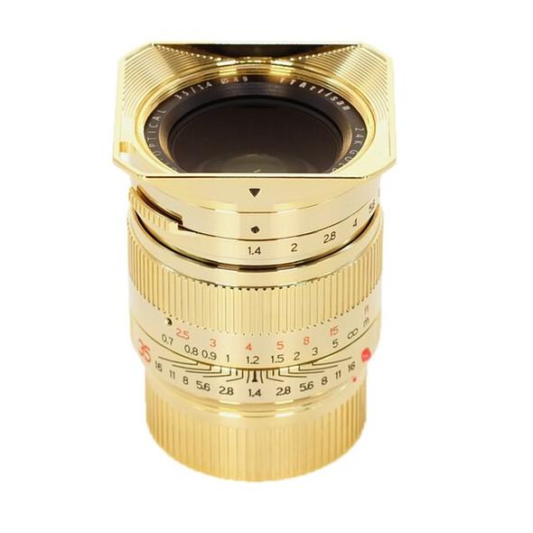 銘匠 TTartisan 35mm f/1.4 LM Leica-M 鏡頭 24K黃金版