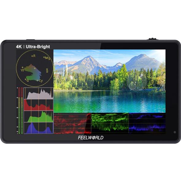 "FeelWorld LUT6S 6"" 3D LUT 4K SDI HDMI Monitor 觸控全高清攝錄監視器"