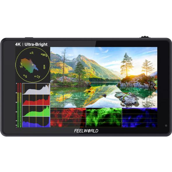 "FeelWorld LUT6 6"" 3D LUT 4K HDMI Monitor 觸控全高清攝錄監視器"