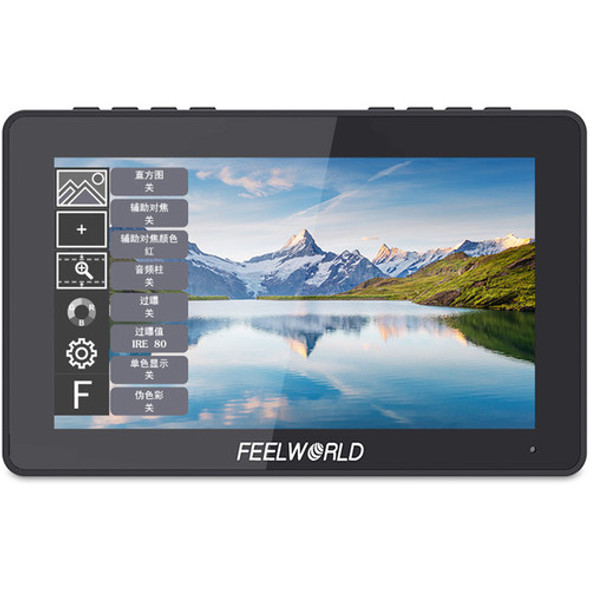 "FeelWorld F5 Pro 5.5"" 4K HDMI Monitor 觸控全高清攝錄監視器"