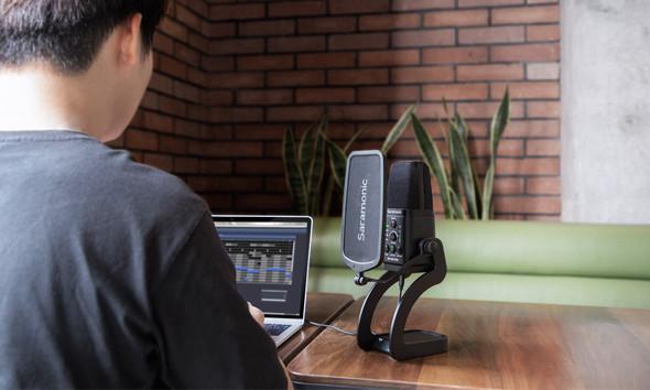 SARAMONIC SR-MV7000 XLR&USB Microphone專業級錄音室麥克風