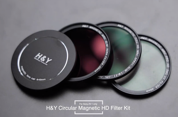 H&Y Circular Magnetic HD Filter Kit for Sony ZV-1