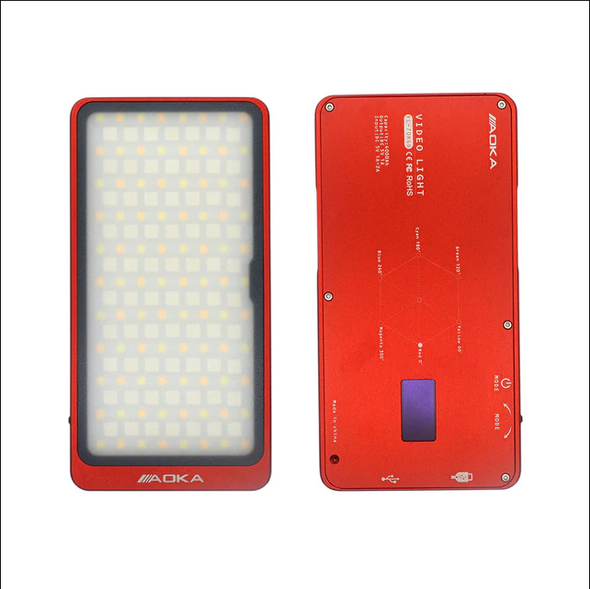 Aoka FL-70RGB LED全彩補光攝錄燈 Red 紅色