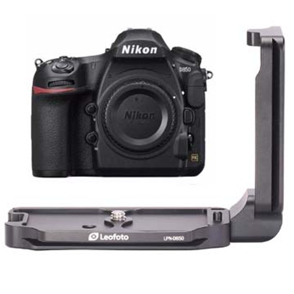 Leofoto LPN-D850 Nikon D850 專用L型快拆板 L plate