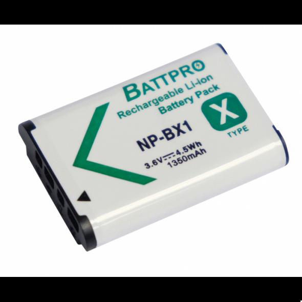 Battpro NP-BX1 Battery for Sony