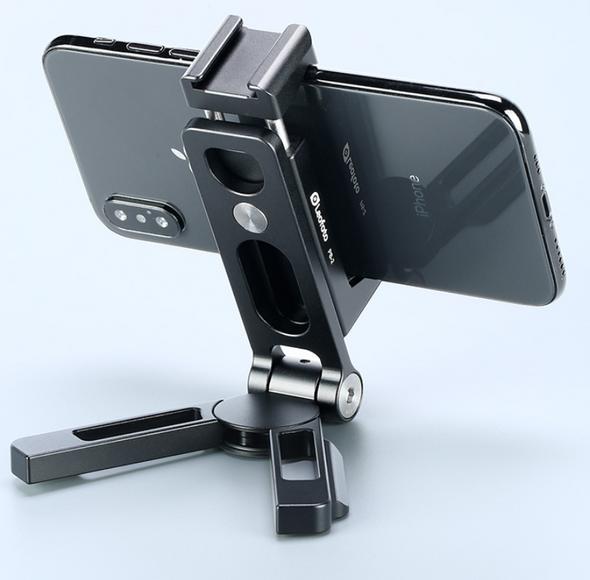 Leofoto PS-2 metal phone stand 多用途金屬手機支架 Black 黑色
