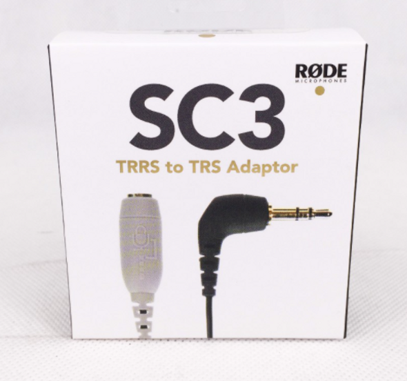 Rode SC3 3.5mm TRRS to TRS Cable