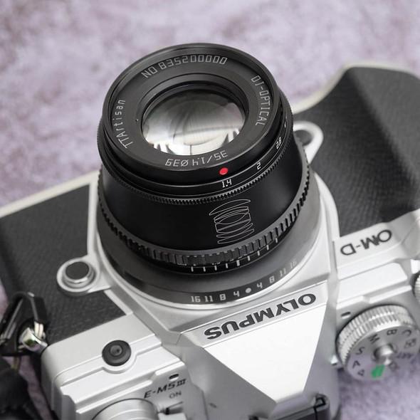 銘匠 TTartisan 35mm F1.4 Fuji FX Mount 鏡頭