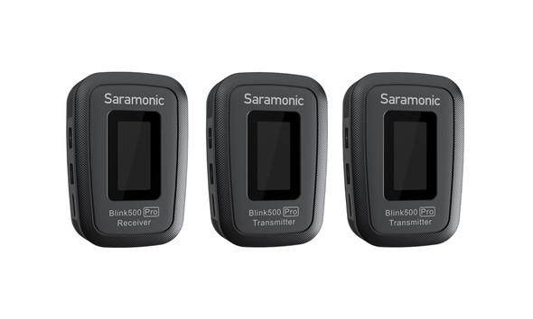 Saramonic Blink500 Pro B2 2.4Ghz 無線單反領夾咪 Black 黑色