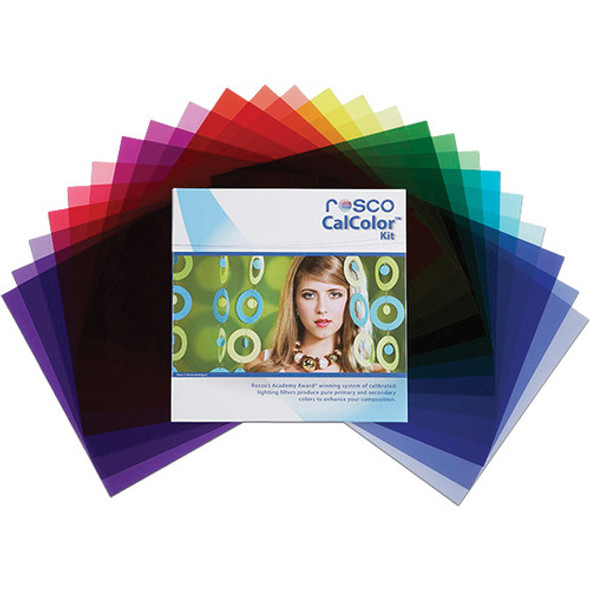 "Rosco CalColor Filter Kit (12 x 12"")  閃光燈校正色片 Gel紙套装"
